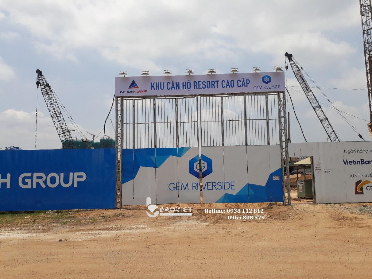 Hàng rào dự án - Gem Riverside - DXG (3)