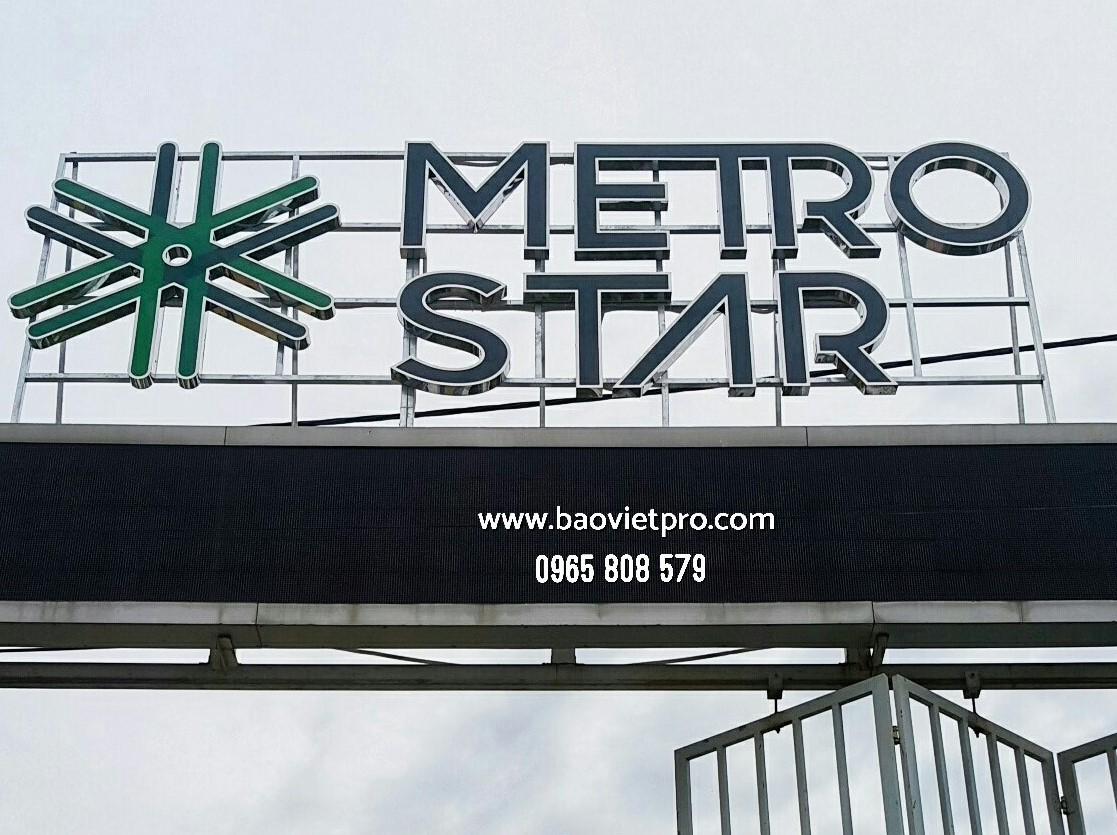 Bộ logo Inox Metro Star (1)